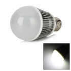 E27 6W 600lm 6300K 6-LED White Light Bulb (85~265V)
