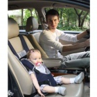 Car Safety Harness Seat Cover Bag Cushion - Steelblue