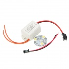 3W 120lm 6500K White Light 3-LED Emitter with Power Supply Driver (100~240V)