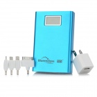 "Blueendless BS-11200 External 1.5"" LCD 11200mAh Power Battery Charger for Cell Phone - Blue"