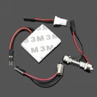 FD1210-24W T10 BA9S Festoon 2W 6000K 140lm 24-SMD 3528 LED White Car Reading Lamp (12V)