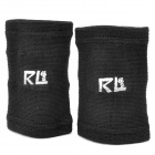 Adjustable Elastic Cotton Wrist Support Protector - Black (2 PCS)