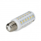 E27 9.6W 672lm 3500K 48-5050 SMD LED Warm White Light Lamp (85~265V)