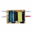 3W 120lm 6500K 1-LED White Light Module w/ Power Supply - Silver + Yellow + Green (AC 100~240V)