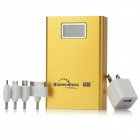 Blueendless BS-11200 11200mAh Mobile Power Battery Charger - Golden