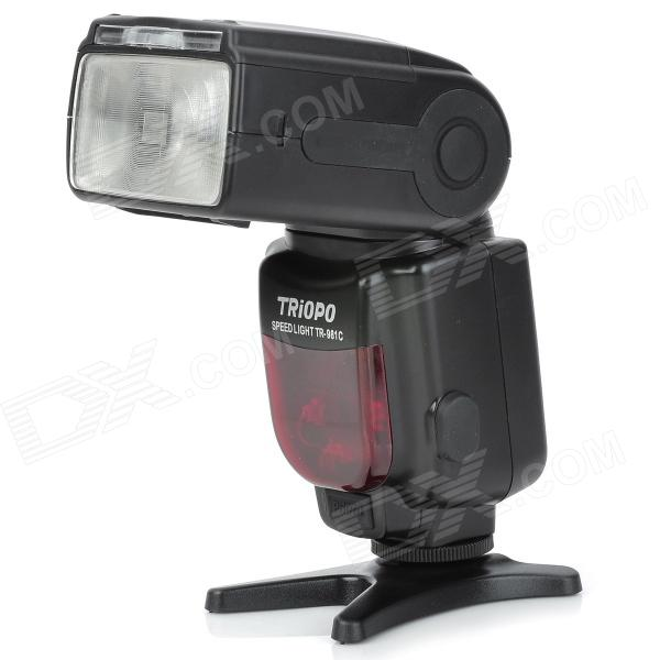 TRIOPO TR-981C Flash Speedlite for Canon - Black