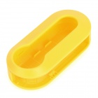 Replacement Detachable Plastic Remote Key Cover Shell Case for Fiat - Yellow