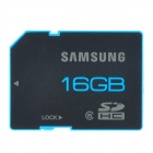 SAMSUNG SDHC Memory Card - Black (16GB / Class 6)