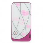 chungha External Bluetooth Converter for Iphone / Ipad / Ipod / Android- Deep Pink + White