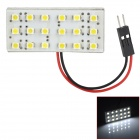 FD1210-18W T10 BA9S / / Festoon 1W 100lm 18-SMD 3528 LED Reading Coche Blanco Luz / Lámpara Interior