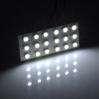FD1210-18W T10 / BA9S / Festoon 1W 100lm 18-SMD 3528 LED White Light Car Reading / Interior Lamp