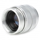 35mm F1.7 CCTV Lens + Macro Rings + C-M4/3 Adapter Ring Set for Olympus / Panasonic - Silver