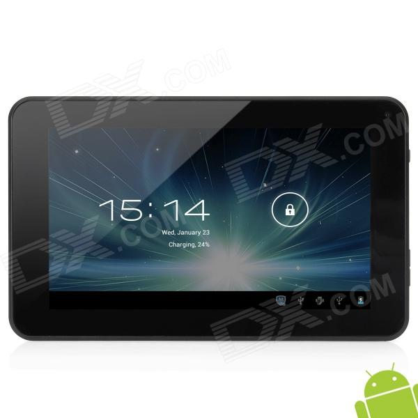 """JXD S6600 7"""" Android 4.0.4 Capacitive Five-Point Touch Screen Tablet PC w/ Wi-Fi / TF - White"""