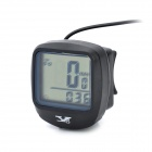 YS YS468A 1.5&quot; LCD Bicycle Computer - Black