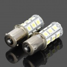 115650-18W 1156 3.5W 200lm 18-SMD 5050 LED White Car Steering / Brake / Tail / Head Lights (2 PCS)