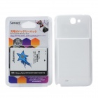 ismartdigi 6000mAh External Battery w/ Back Case for Samsung N7100 / Galaxy Note 2 N7108 - White