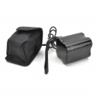 8.4V 8000mAh Rechargeable 26650 Li-ion Battery Pack for Bicycle Light - Black