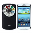 9 Special Effects Lens Filter Turret Protective Cover Case for Samsung Galaxy S3 i9300 - Black