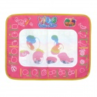 Children Intelligent Water Canvas Drawing Board - Pink