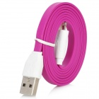 USB to 8pin Lightning Data Transfer & Charging Cable for iPhone 5 - Deep Pink