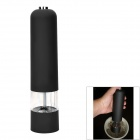 Electric Pepper Spice Salt Mill Grinder Muller - Black (4 x AA)