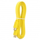 1080P 3D HDMI V1.4 Male to Male Connection Cable - Yellow (1.5M-Cable Length)