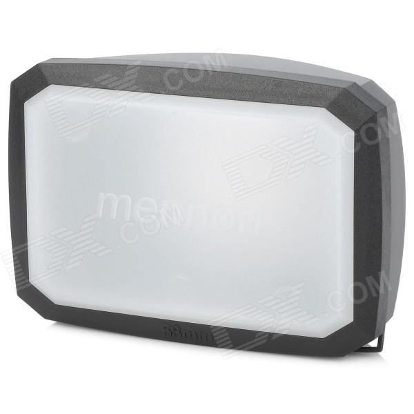 Mennon 16:9 58mm Lens Hoods w/ White Balance Cover for Sony / Panasonic / JVC - Black