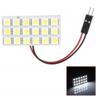 T10 / BA9S / Festoon 5.4W 198lm 18-SMD 5050 LED White Light Car Lesen / Innenlampen (12V)
