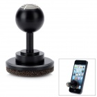 Stainless Steel Joystick für iPhone 5 / Samsung S3 / N7100 / iPAD 4 / iPad Mini - Schwarz