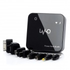 Multi-Function Wi-Fi Network Adapter External 6800mAh Power Battery Charger - Black