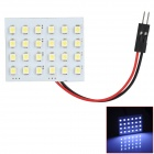 LY231 T10 / BA9S / Festoon 2.4W 102lm 24-SMD 1210 LED White Light Car Reading / Interior Lamp (12V)