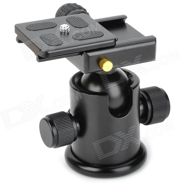 Benro KS-0 Magaluma Ball Head w/ Quick Release Plate - Black ye 306 aluminium magnesium alloy ball head w quick release plate adapter black
