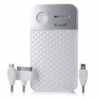 ShenPai M68 8000mAh Mobile Power Battery Charger for iPod / iPhone 4 / 4S / BlackBerry - Silver