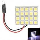 T10 / BA9S / Spring Festoon 6W 220lm 20-SMD 5050 LED White Light Car Leselampe (12V)