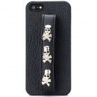 Cool Skull Style Protective Back Case for Iphone 5 - Black (Skull Size-L)
