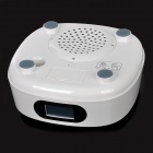 HH-015 2.1CH Digital Subwoofer Speaker w/ SD / MMC Card Slot / FM for iPhone 4 / 4S / iPad - White