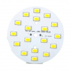 9W 850lm 3500K 1-SMD 5630 LED Warm White Light Source Module - White + Yellow (DC 29~32V)