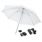 PR-02 4-Channel Remote Trigger Transmitter Receiver Kit w/ Umbrella for Hotshoe Camera - Black