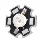 JR-460-B 55lm 3W 460nm LED Blue Light Soldering Bulb Plate - Silver + Black
