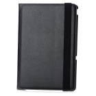 Lychee Pattern Protective Swivel Rotating PU Leather Case for Transformer Pad TF300 / TF300T - Black