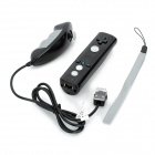 Polardigi PD-80 Bluetooth Wireless Left / Right Remote Controllers for Nintendo Wii U - Black