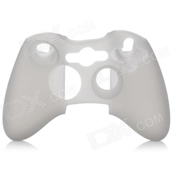 Silicone Protective Case for Xbox 360 Controller (Translucent Black)