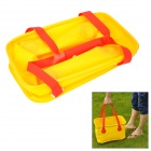 Naturehike-NH Outdoor Folding PVC Water Bucket - Yellow + Red (14L)
