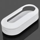 Replacement Detachable Plastic Remote Key Cover Shell Case for Fiat - White
