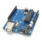 R1206 UNO + Development Board + Breadboard + Bread Wires Set - Blue