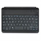 Ultrathin Magnetic Bluetooth v3.0 59-Key Keyboard for Ipad MINI - Black + Silver