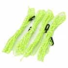 NatureHike Reflect Camping Hunting Hiking Tent Ropes - Green (4 PCS)
