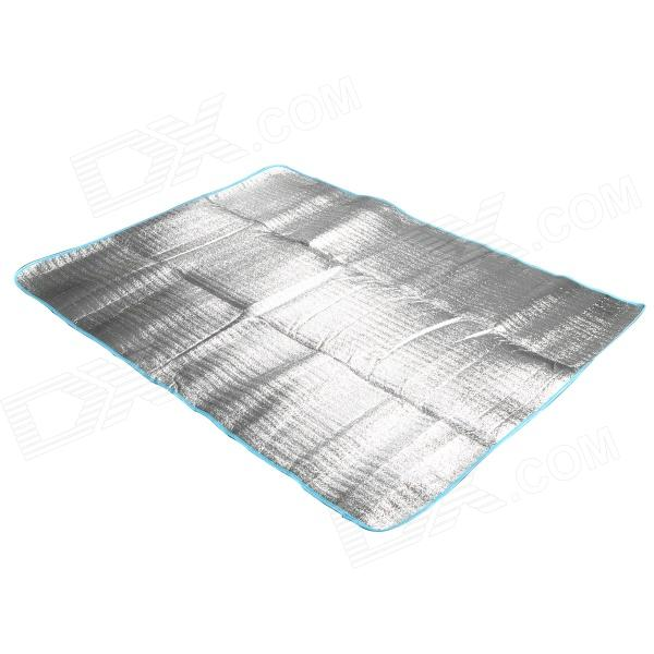 Outdoor Moisture-Proof Picnic Blanket Camping Mat Pad - Silver (194 x 145cm) wood heat proof mat
