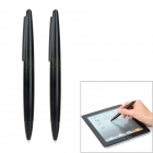 Stylish Stylus Pen for Wii U GamePad - Black (2 PCS)