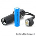 C30 Flood-to-Throw Zooming Glass Optics 100-Lumen LED Flashlight w/ Cree P4-WC / Strap (3*AAA)